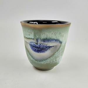 Five Senses Tea Cup - Mouth