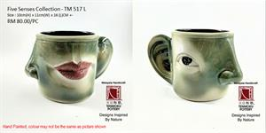 Five Senses Cup - Eye, Nose, Mouth