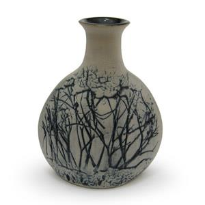 Sake Bottle - Twigs Design