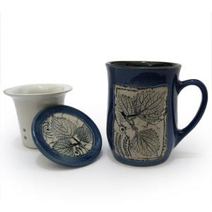 Ginseng Tea Cup - Leaves Design