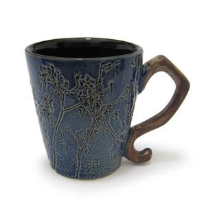 Mug Oval Shape - Twigs Design