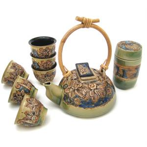 Sun Flower Tea Set