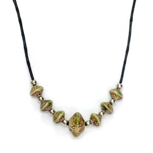 Necklace - Leaves Design