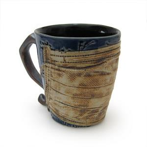 Mug with Mask - Twigs Design