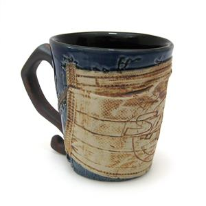 Mug with Mask (Anti-Sars) - Twigs Design